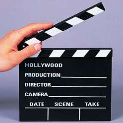 Take Action Clapboard